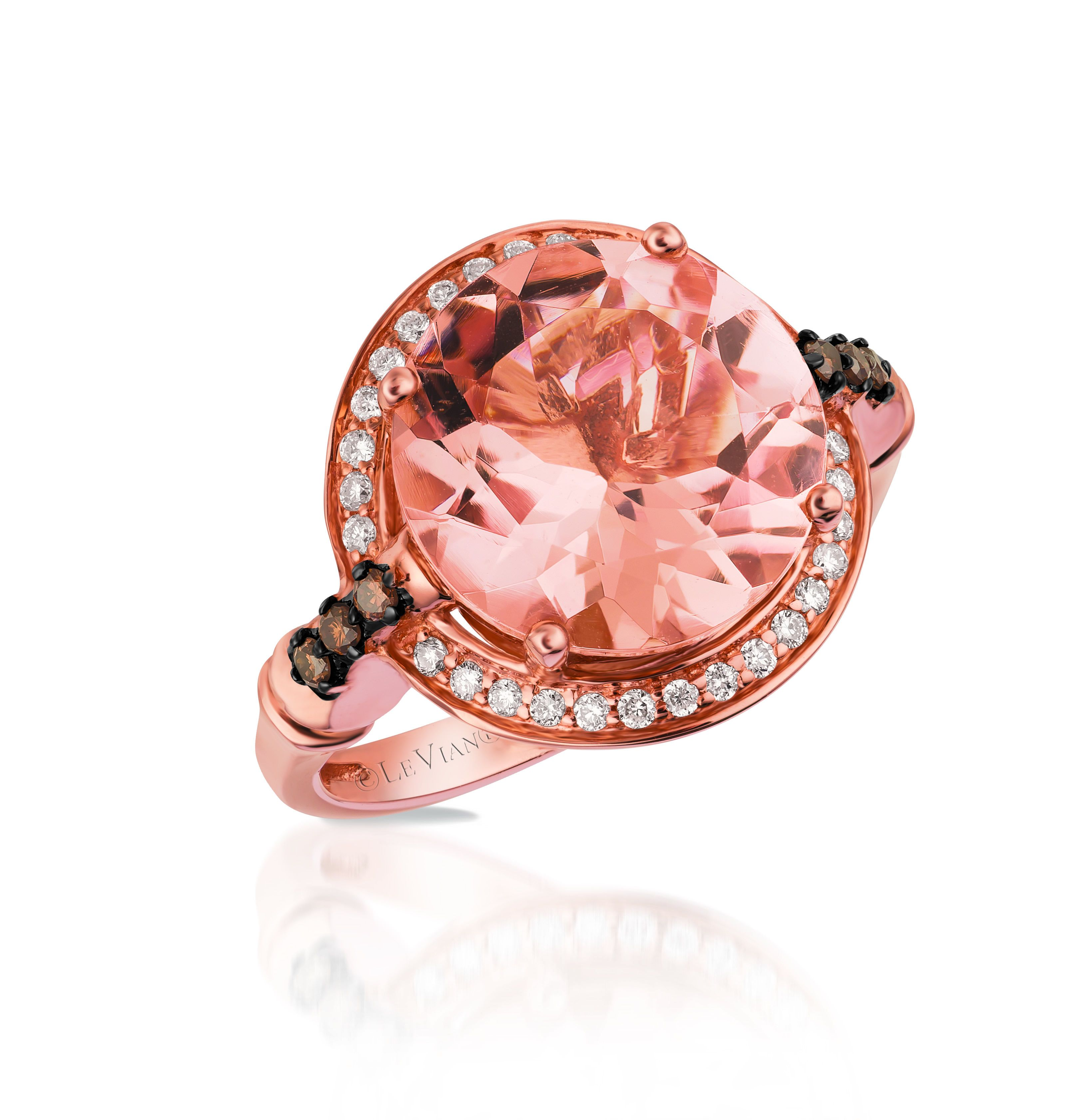 Le Vian Chocolatier Ring | Le vian, Peach and Diamond