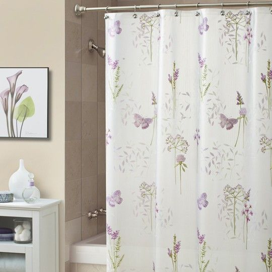Abundance Lilac Shower Curtain 2000