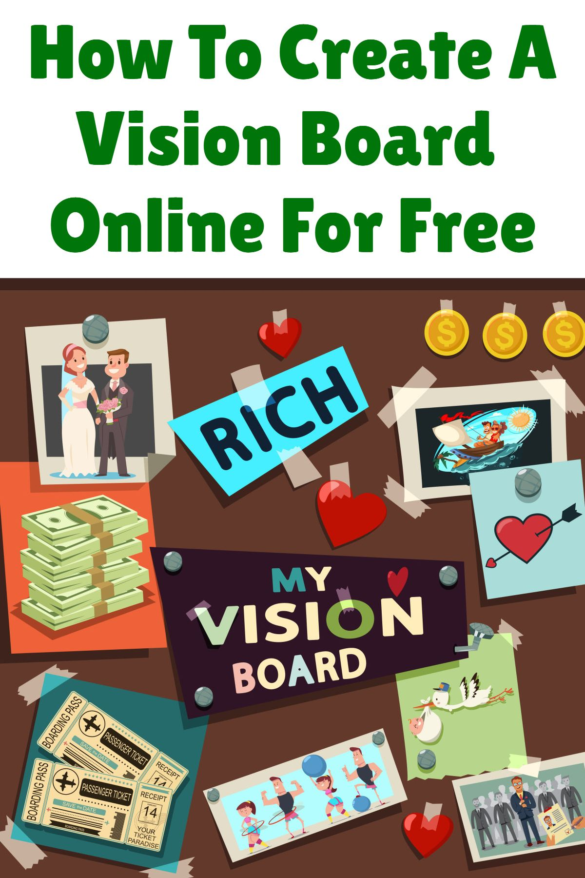 How To Create A Vision Board Online For Free Visionboard
