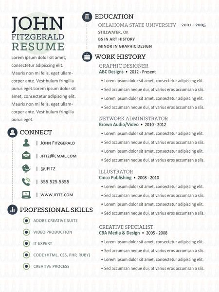 The Story - Resume Template For My Son Pinterest Career - google resume format