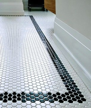 Tile Countertop Basic Black Mosaic Tiles