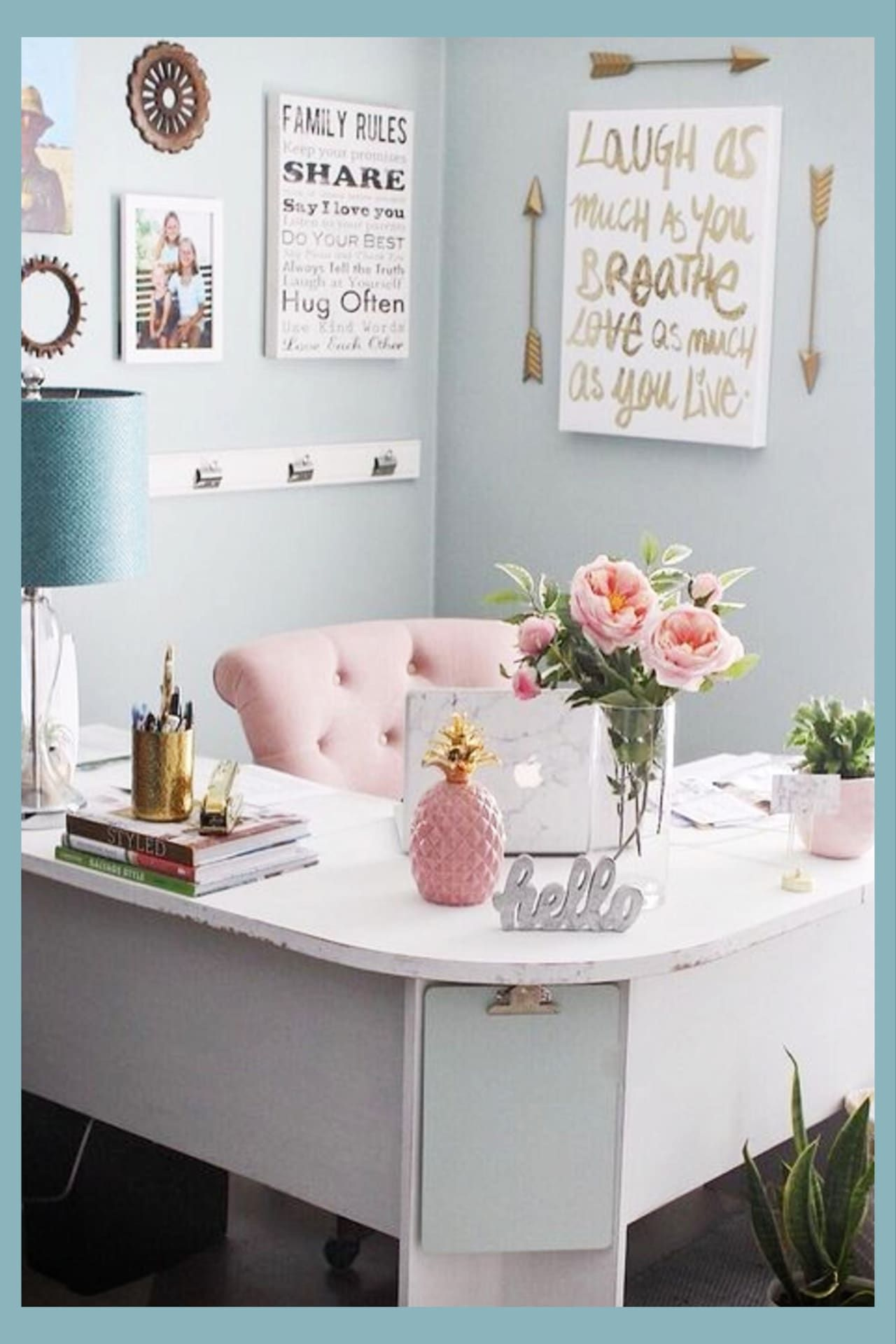 Pretty Home Office Ideas For Women