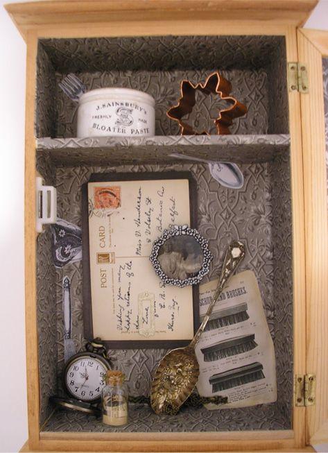 Caja objeto | COLECCIÓN | Pinterest | Cajas, Marcos cuadros y Morfologia