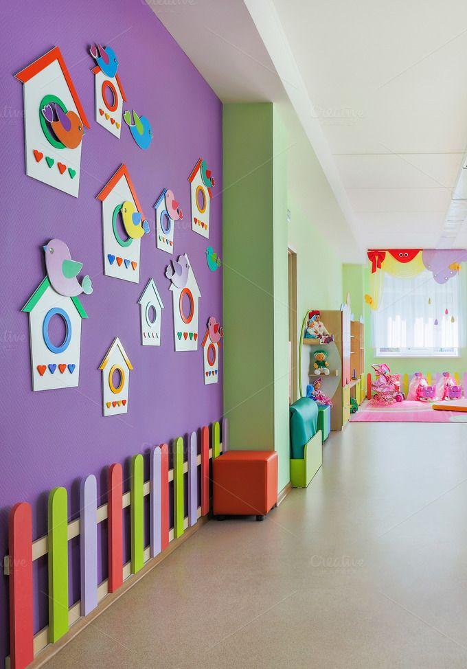 Kindergarten Hall Preschool Decor Daycare Decor Daycare Design