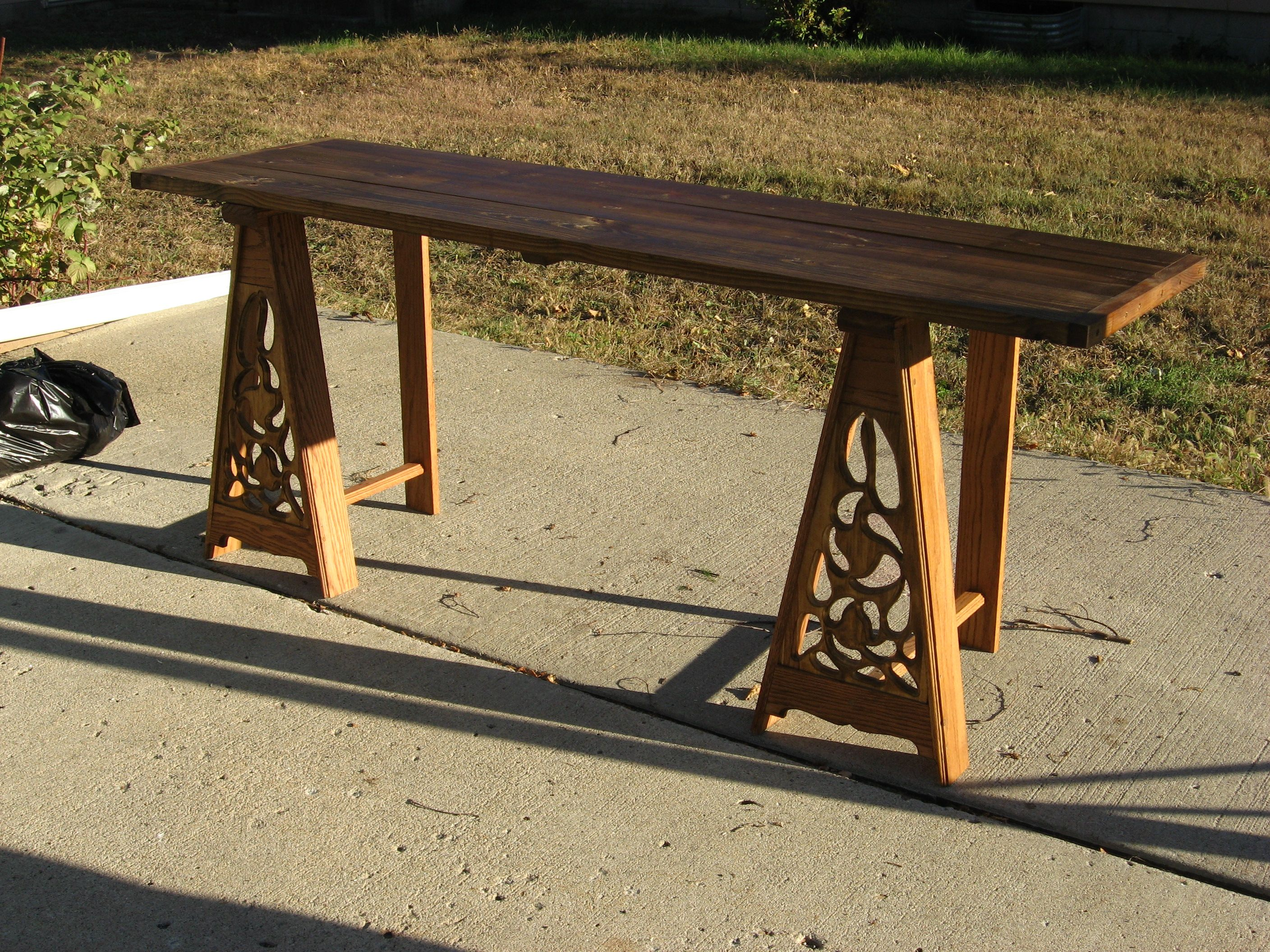 Noblemanu0027s Trestle Table.