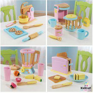 Kidkraft Play Kitchen Accessories 4 Pack