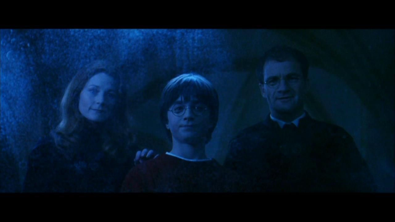 Harry James And Lily Seen The The Mirror Of Erised Harry Potter Parents Harry Potter Stories Harry Potters Dad