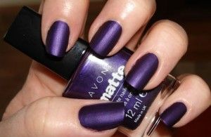 avon - violetta: really like this color! | Nails | Matte nails ...
