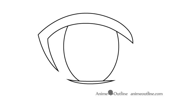 Female Anime Eye Iris Olhos De Anime Desenho De Olho Esbocos De Olhos