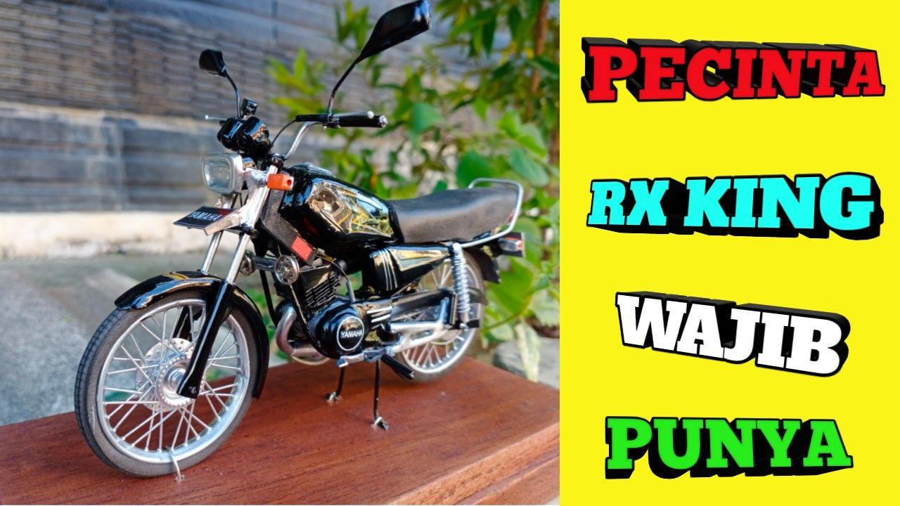 Terlaris Review Miniatur Motor Yamaha Rx King Motor Jet Darat Motor Klasik Miniatur Motor