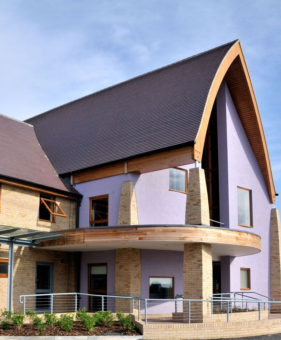 A Curved Roofing Gallery Of Dreadnought Tiles Projects Roof Architecture Modern Roofing Fibreglass Roof
