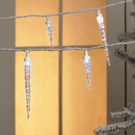 Home Icicle Lights Led Icicle Lights Holiday Time