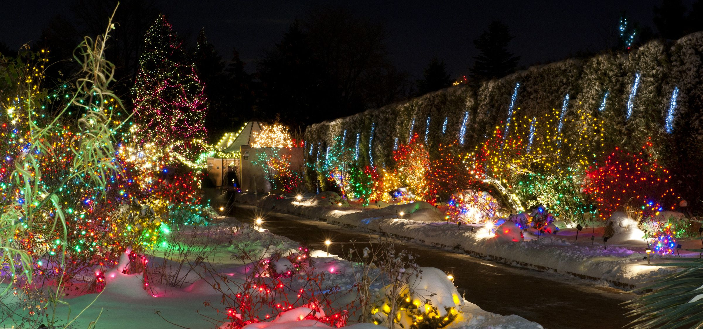 love the scrappy wanton use of color here best outdoor christmas lights swingle shares best places to view christmas lights in denver fort - Best Christmas Lights Denver