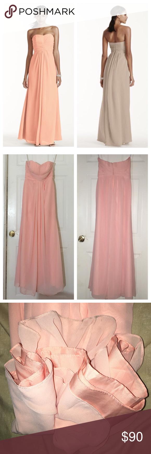 Davids Bridal Bridesmaids Dress F15555 | Daniele & Bill\'s Modern ...