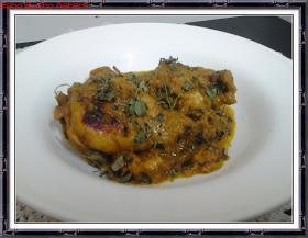 Esho Bosho Aahare: Methi Chicken | Chicken in Fenugreek Curry
