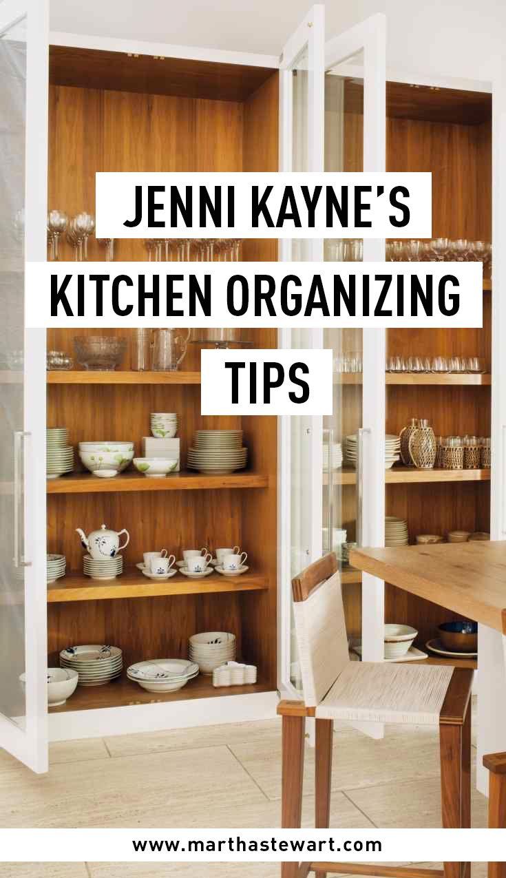 Jenni Kayneu0027s Kitchen Organizing Tips | Martha Stewart Living   Fashion  Designer Jenni Kayne Brings A