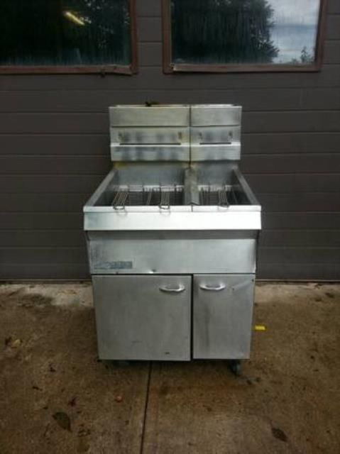 Jc Pitman Sons Frialator Deep Fryer Commercial Restaurant