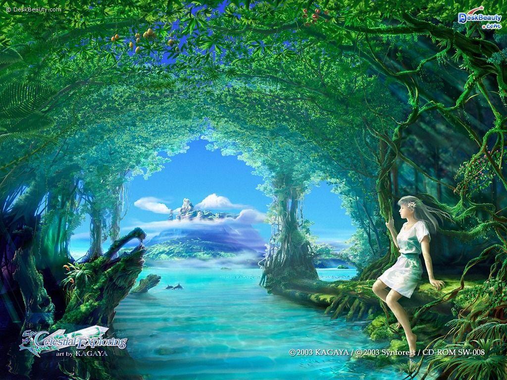 3d Wallpaper Desktop Wallpapers 3d Wallpapers Beautiful Paintings Of Nature Beautiful Nature Wallpaper Beautiful Nature