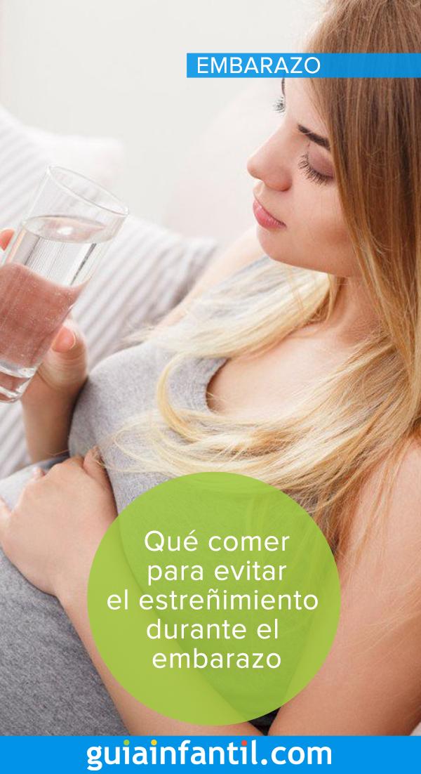 Alimentos para aliviar el estrenimiento durante el embarazo