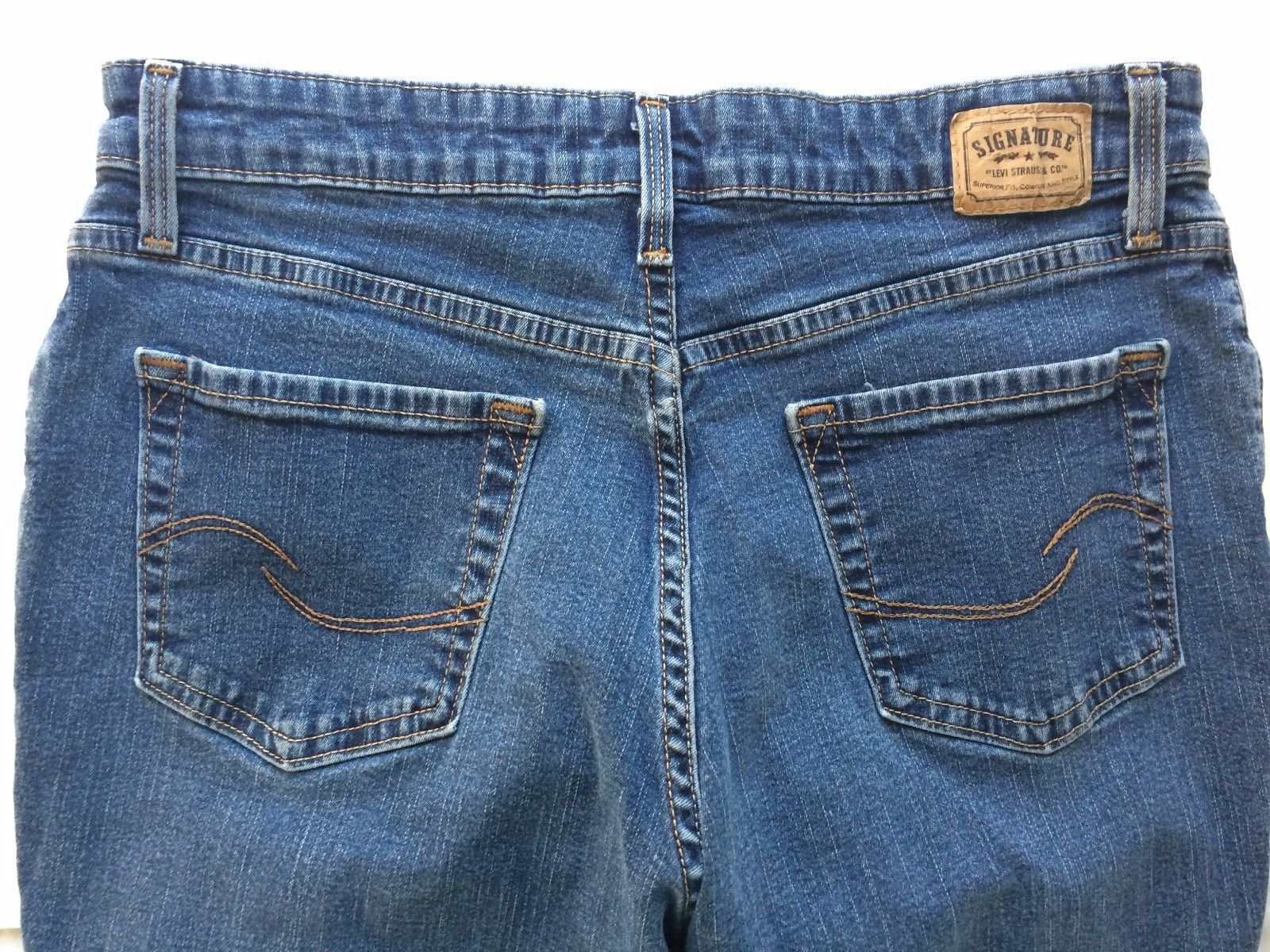 20.25$  Watch here - http://vilsm.justgood.pw/vig/item.php?t=iwpcjax1315 - Levi's Jeans Signature Size Misses 12 Short Bootcut At Waist Women's Stretch 20.25$