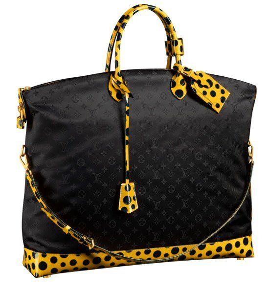 Yayoi Kusama for Louis Vuitton  Huge ass Lockit... e only otoko friendly in  its collection! 61214dfff00a0