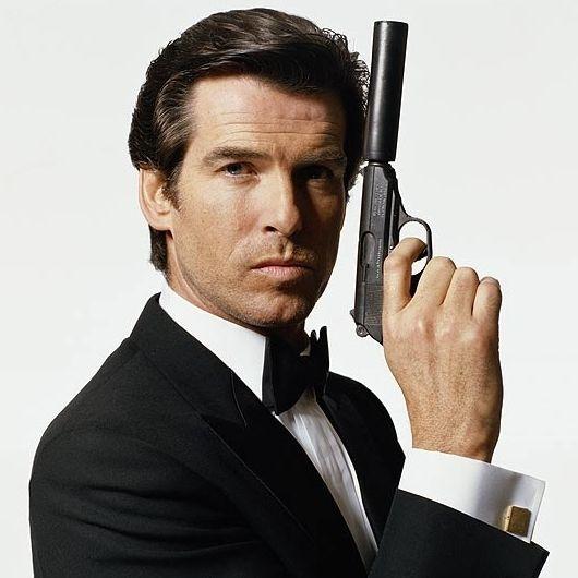 License To Thrill Pierce Brosnan James Bond Movies