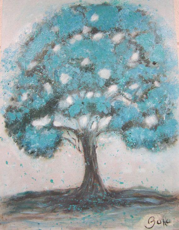 Majestic Turquoise Tree
