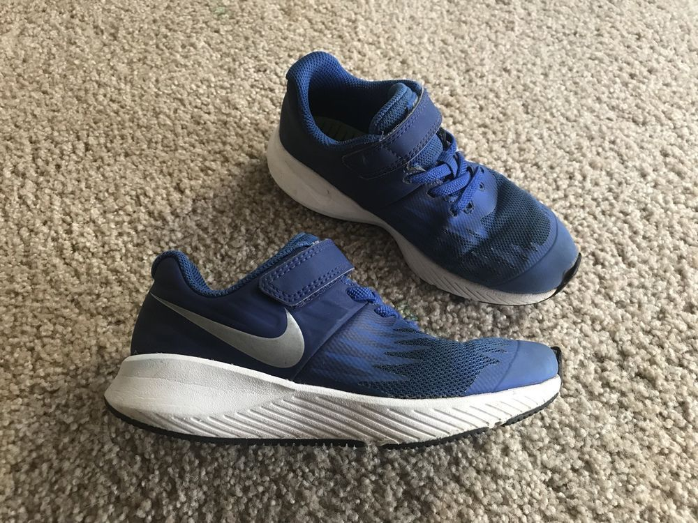 hot sale online 850d5 c4264 Nike Shoes Kids Size 12 Blue Running Sneakers 12C Used Good Condition Boys  Girls  fashion  clothing  shoes  accessories  kidsclothingshoesaccs   boysshoes ...