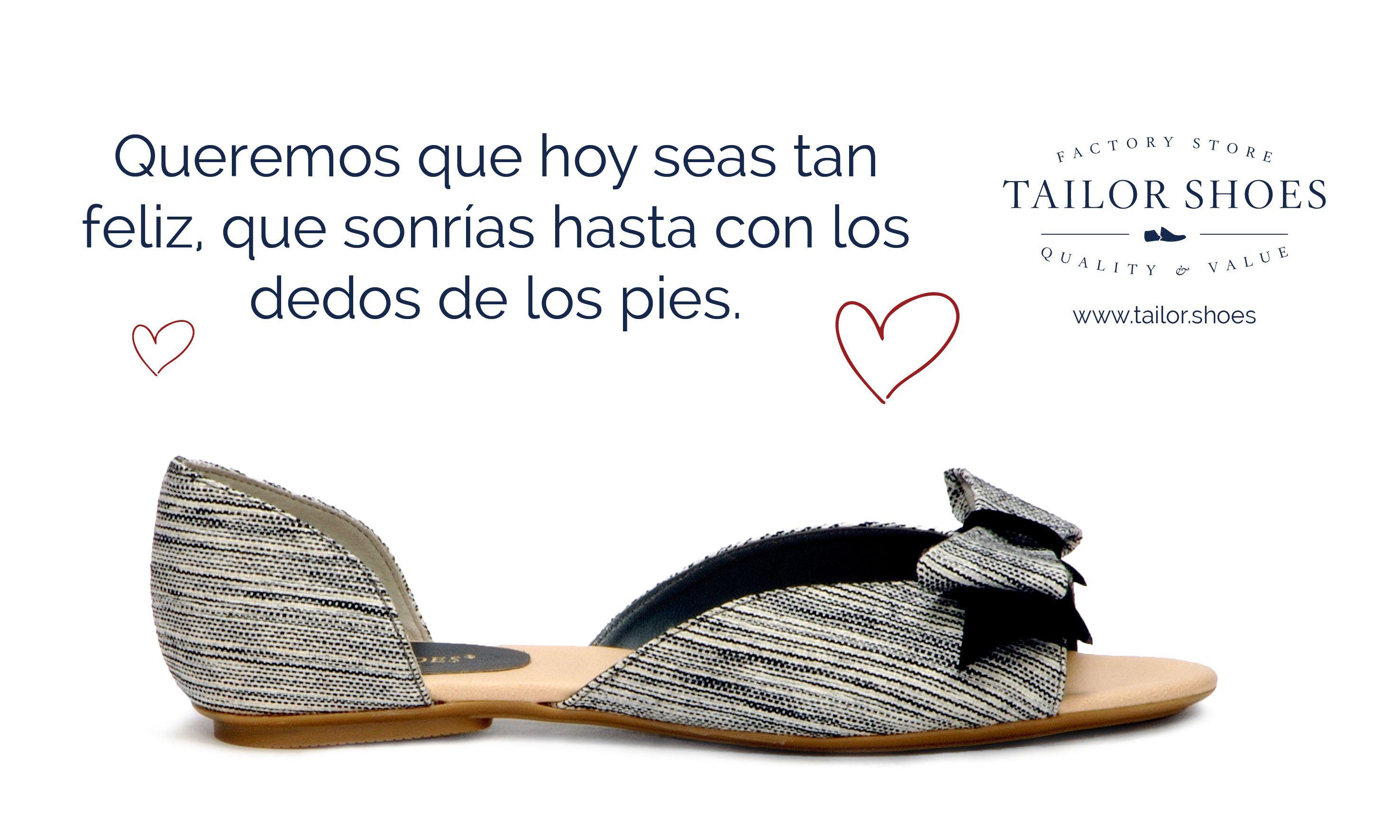 Queremos que seas feliz estrenando, por eso en #TailorShoes tenemos los mejores precios para tí ya que somos fabricantes! Entra a www.tailor.shoes y compruébalo.