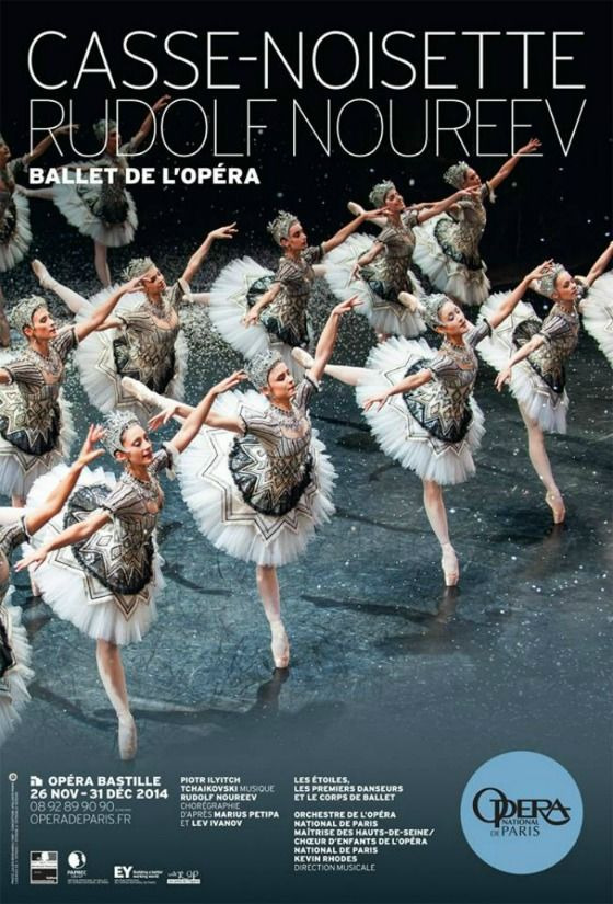 Casse Noisette Rudolf Noureev Ballet De L Opera National De Paris C Julien Benhamou Opera National De Paris Avec Images Rudolf Noureev Casse Noisette Noureev