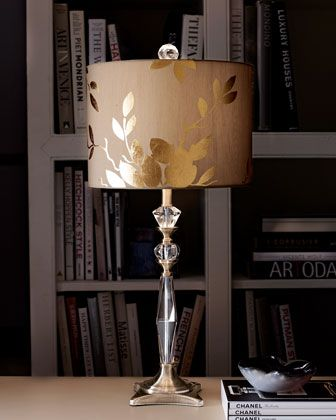 Couture Lamps Golden Leaf Table Lamp Lamp Antique Lamp Shades Table Lamp