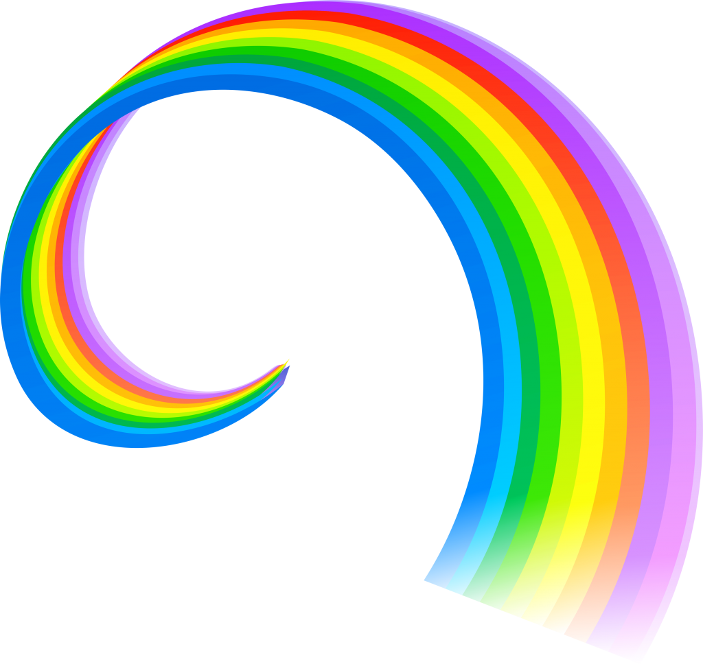 Cartoon category Rainbow Image. It is of type png. It is ...