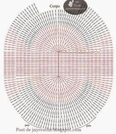 graficos de croche para jogo de banheiro tapete