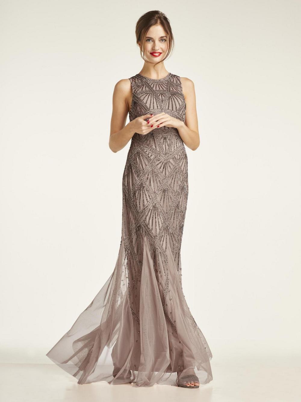 heine TIMELESS - Abendkleid mit Pailletten im heine Online-Shop