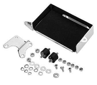 Battery Tray Box Kit - Chrome