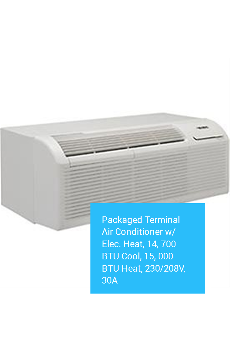 Packaged Terminal Air Conditioner w/ Elec. Heat, 14, 700
