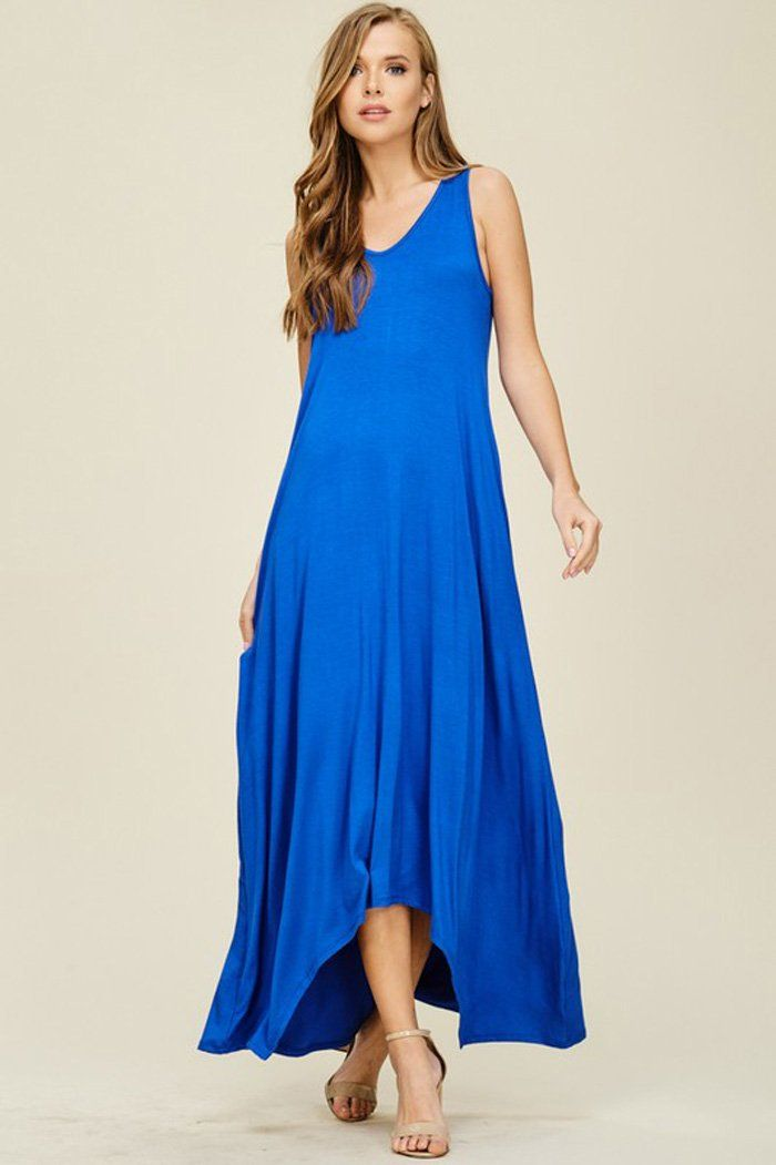 e666405b36 Melody V-Neck Maxi Dress : Royal | Date Night Romance | Dresses, V ...