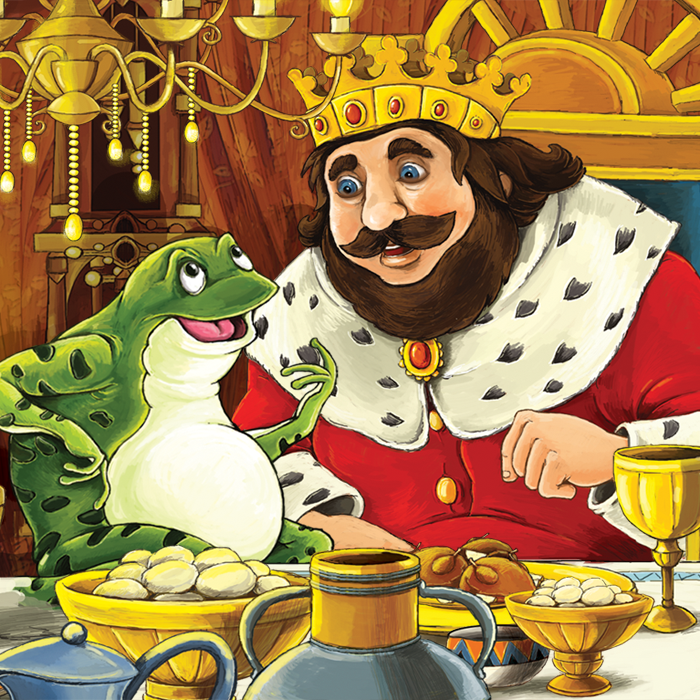 http://www.pegham.com/showthread.php/99065-The-Frog-King-by-Grimm-Brothers?p=1647288#post1647288