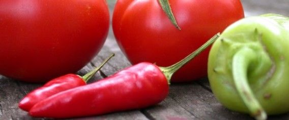 Tomato and chilli relish - unlocking lycopene, ways to preserve tomatoes.