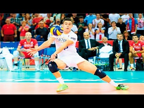The Best Volleyball Libero In The World Jenia Grebennikov Professional Volleyball Players Mens Volleyball Libero Volleyball