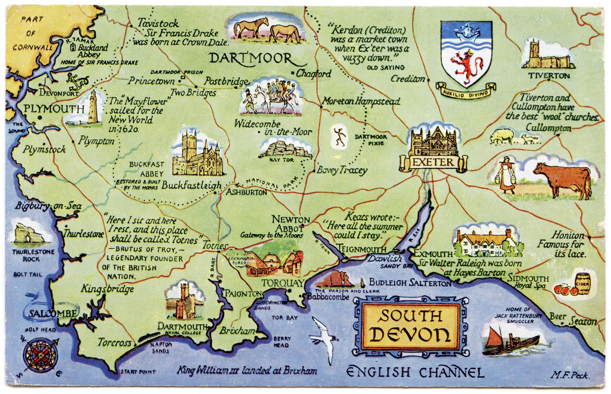 Printable Map Of Cornwall And Devon Saferbrowser Yahoo