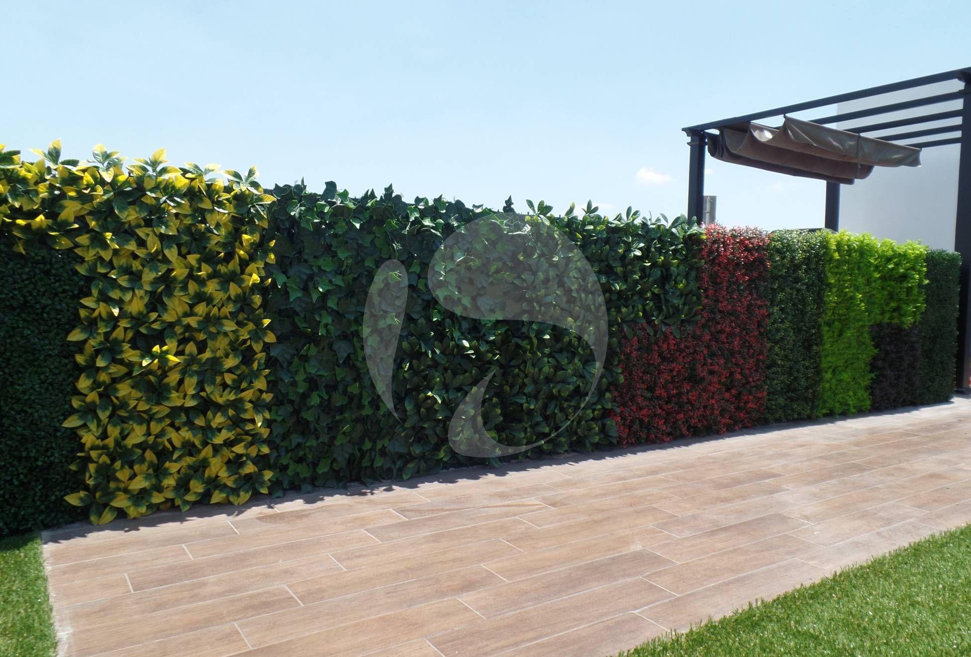 Muros verdes paredes techos azoteas follaje artificial for Jardines verdes
