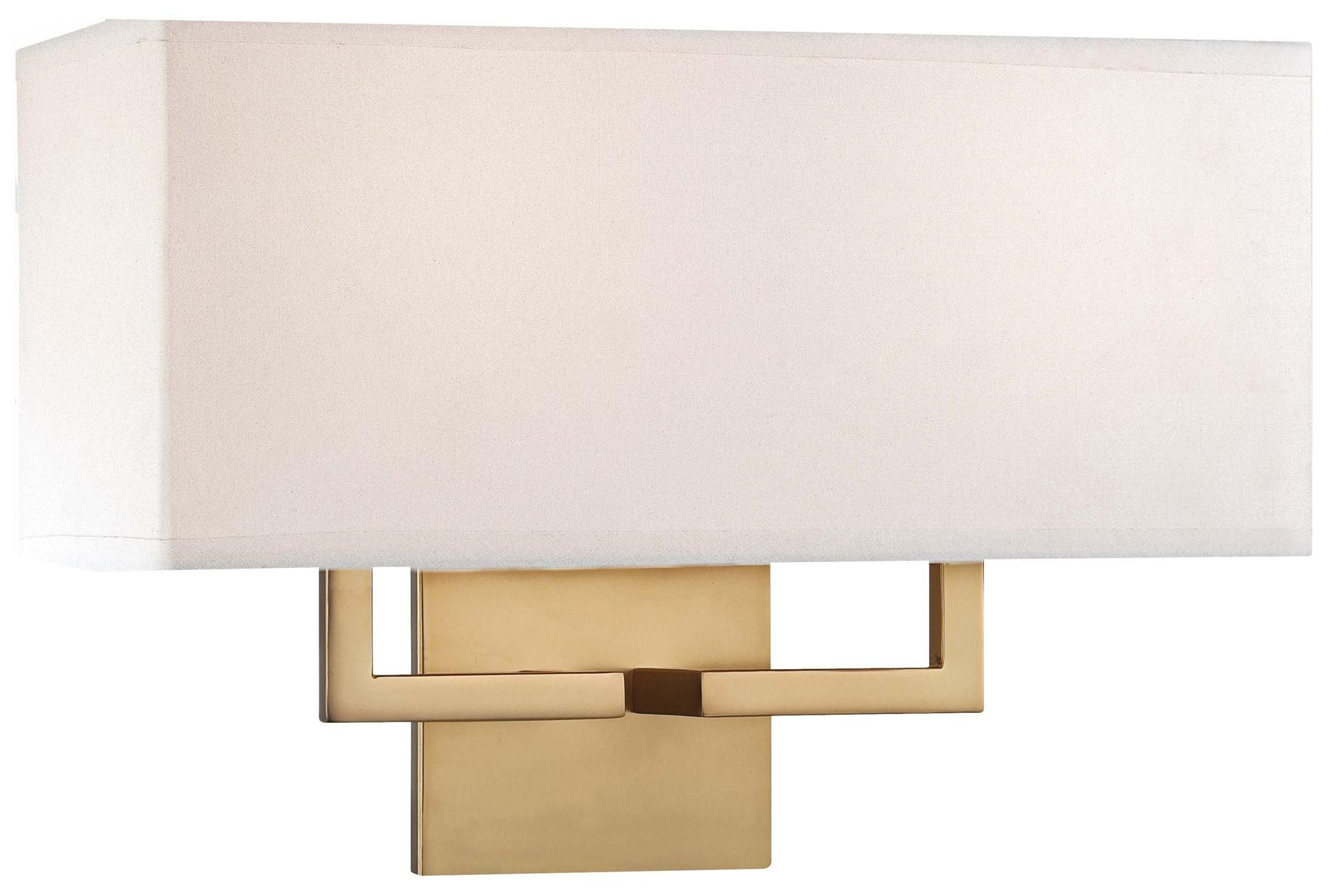 George Kovacs Rectangle 11 High Gold Wall Sconce W1297 Lamps Plus Gold Wall Sconce Wall Sconces Indoor Wall Sconces