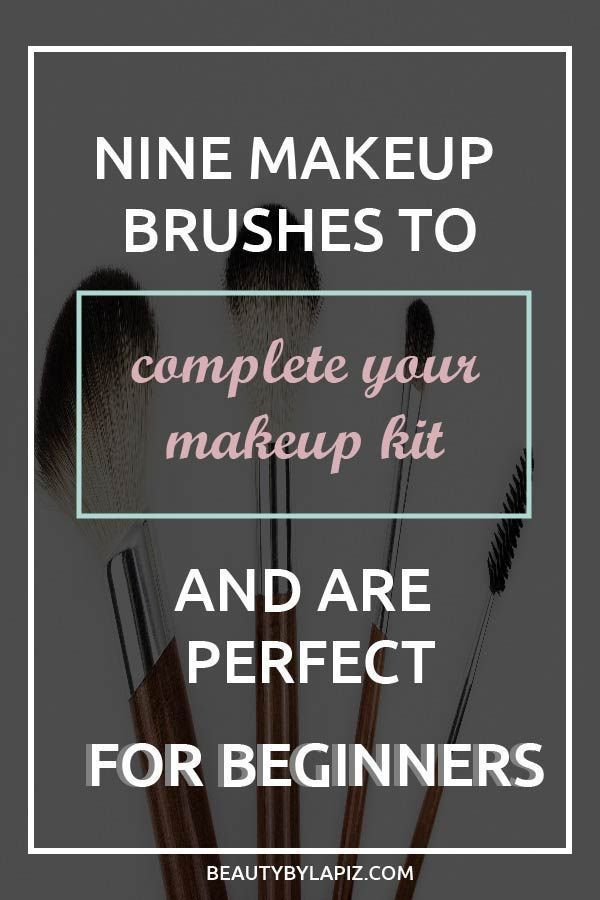 Photo of Makeup brushes guide for beginners. This video is a cheat sheets with all the br…