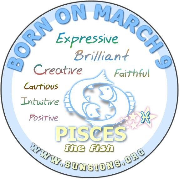march 9 birthday horoscope personality