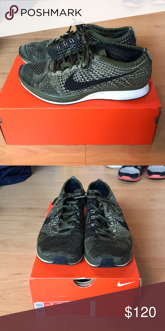 9e02bf5379eb Nike Flyknit Racer Lightly used pair of Nike Flyknit Racers. Not worn to  work out