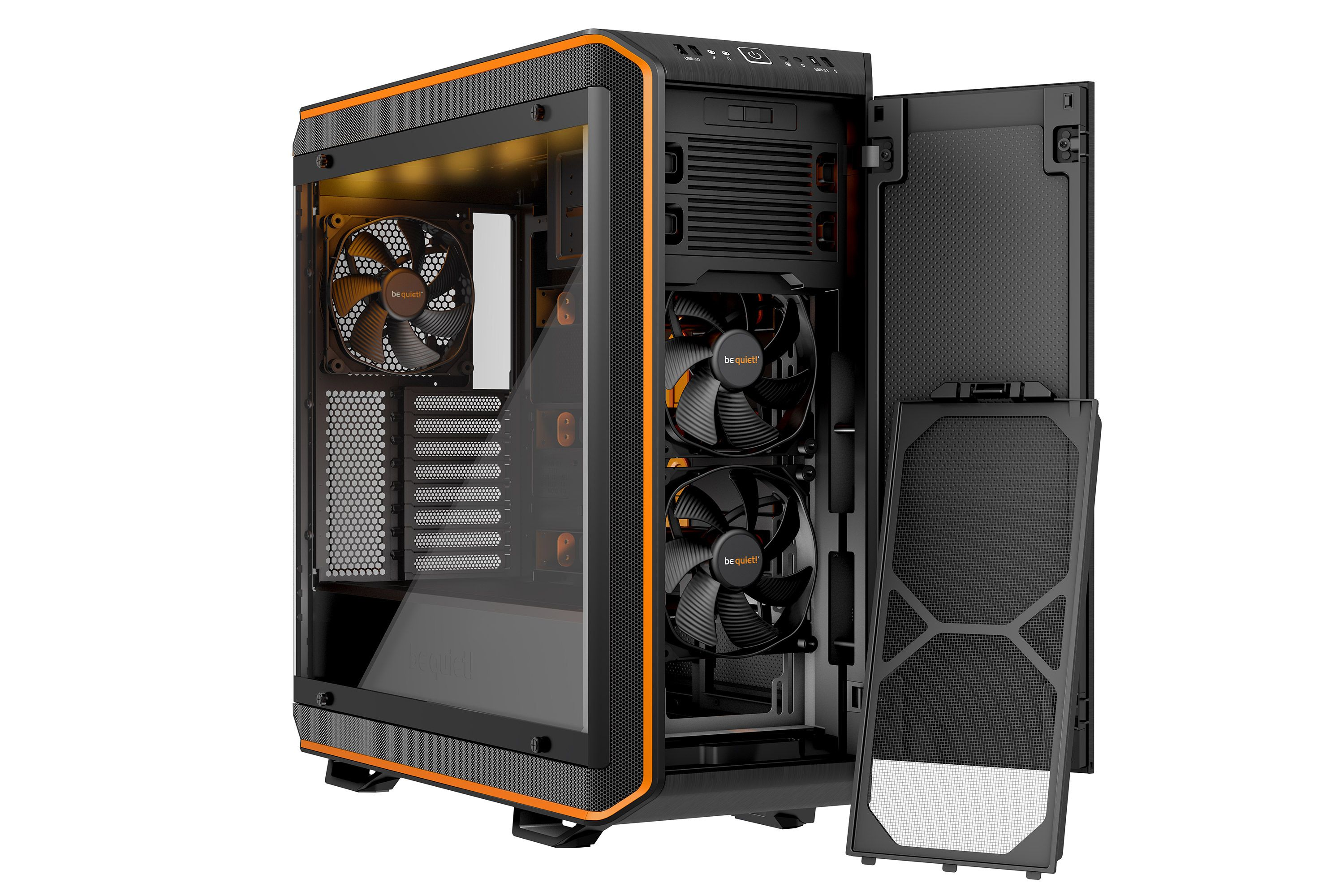 Dark Base Pro 900 Rev 2 Be Quiets Flagship Case Gets Even Better Pc Gehause Gehause Rgb Led