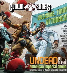 Clown Shoes Undead Party Crasher