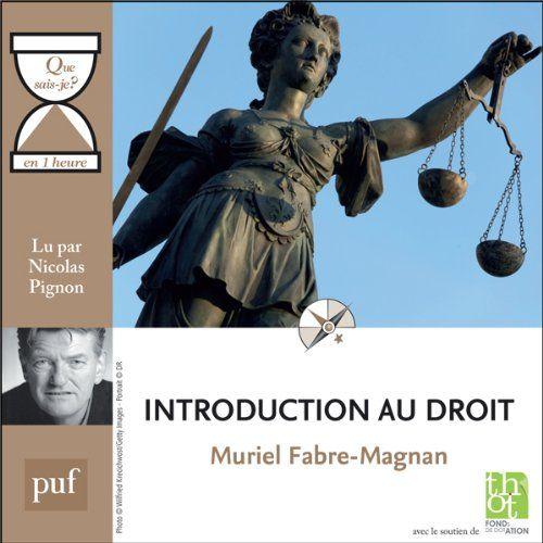 Télécharger Introduction Au Droit En 1 Heure Collection
