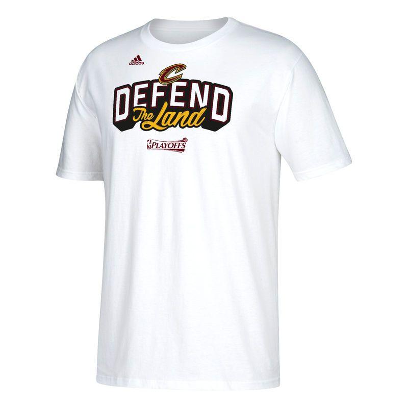 Cleveland Cavaliers adidas 2017 NBA Playoffs Participant Slogan T-Shirt -  White